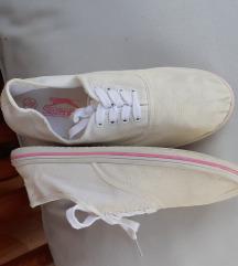 Slezenger bijele platnene tenisice