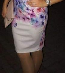 Cvjetna pencil haljina