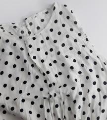 Bijela haljina sa točkicama (XS, S)