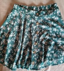 Vintage suknja na cvijetiće