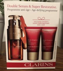 REZ NOVI Clarins Double Serum +kreme paket