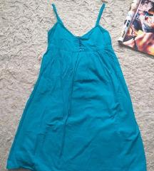 H&M plava haljinica