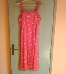 NOVO ASOS crvena midi  haljina 44