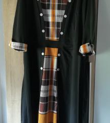 NOVA haljina s kariranim uzorkom 4XL