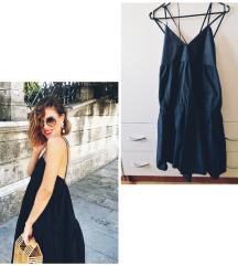Crna haljina golih leđa S