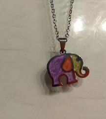 Privjesak slonić