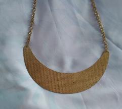 Zlatna ogrlica polumjesec