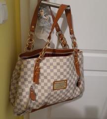 Louis Vuitton bijela velika torba