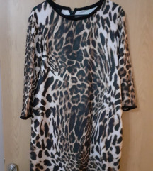 mango leopard haljina tunika