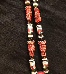 Vintage keramička ogrlica