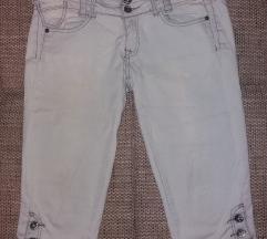 3/4 jeans hlače