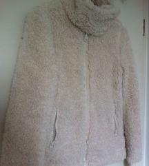 CLOCKHOUSE odlična bijela ''ovčica''  jakna, S