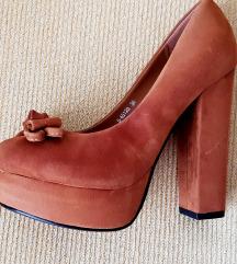 Nina Fashion ženske smeđe platformke
