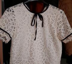 Čipkasta majica; NOVA; veličina 38