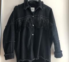 Zara hit natkosulja/ jaknica sa resicama