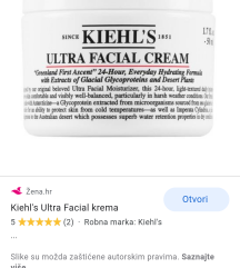 TRAŽIM KIELH'S ULTRA FACIAL CREAM