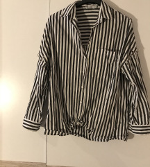 Prugasta košulja- širi kroj