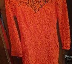 Predivna čipkana H&M haljina!