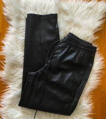 Nove Mango kožne hlače 34