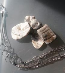 Rock metalna ogrlica