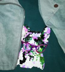 Zara majica i h&m jaknica 134