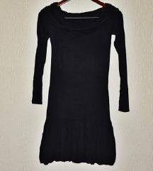 Crna stretch haljina