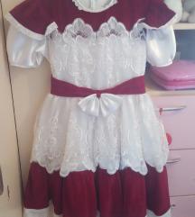 haljina svečana 8 - 10 jako ljepa očuvana skroz