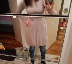 Tanja pletena bež haljina 38