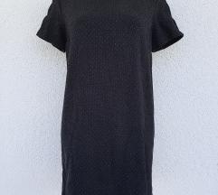 Zara crna haljina vel s-m SNIŽENJE!50% 69kn