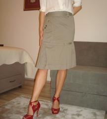 Uska Midi Diesel suknja na preklop
