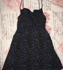 Leopard print haljinica