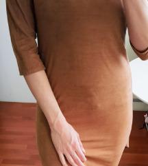 Nova haljina - brušena koža