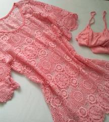 čipkasta haljina 2u1 - AKCIJA
