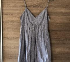 % Zara plava haljina