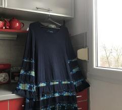 Desigual Nova plava viskozna haljina tunika