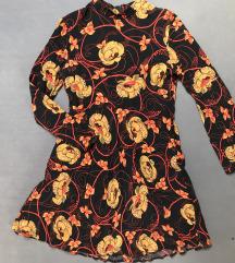 Zara floral mini haljina