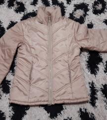 Zimska bež/zlatna jakna M/L ❄❄