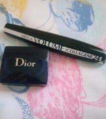 Sjenilo Dior i maskara Loreal