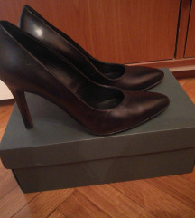 Aledona crne cipele na petu