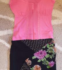 Lot suknja i majica S 💞💗💕