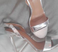 Nove Asos srebrne sandale