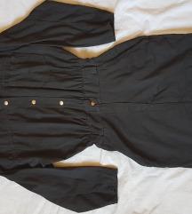 Crna haljina nalik kombinezonu /Outback red