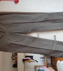 Mango sive poslovne hlače