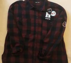 Karirana košulja XL