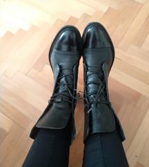 ČIZME - Leather Brogue Boots