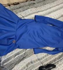 Elfs plava haljina S NOVO