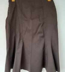 Smeđe suknja Orsay novo 34