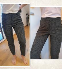 NOVO - Točkaste hlače, RESERVED, vel. XS/34