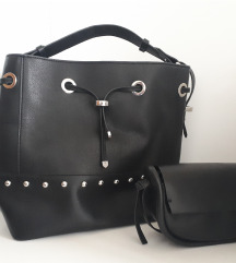 Dvije Zara crne torbe