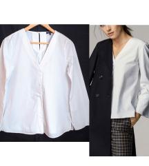 MASSIMO DUTTI bijela kosulja/bluza
